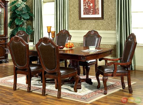traditional dining room furniture chateau traditional formal dining room furniture set free shipping shopfactorydirect