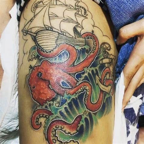kraken tattoo meaning 60 best kraken meaning and designs legend of the