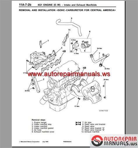 small engine repair manuals free download 2005 mitsubishi diamante interior lighting mitsubishi 4g15 engine manual auto repair manual forum heavy equipment forums download