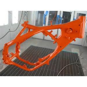 ktm orange powder coating paint