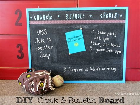 diy chalkboard cork board diy chalkboard paint bulletin board