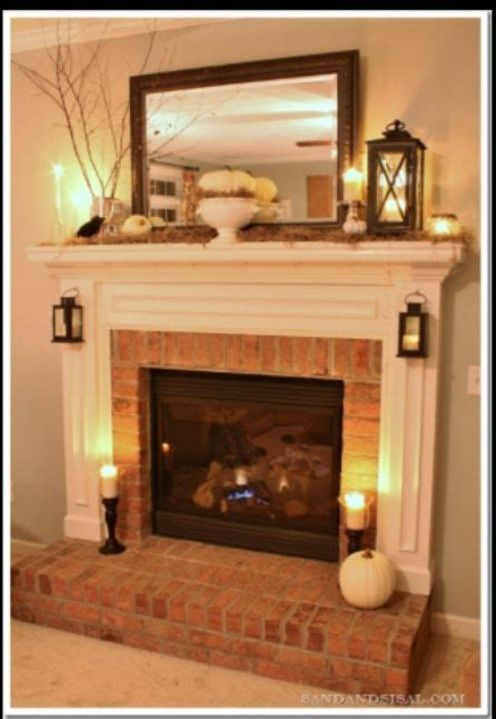 diy home decor ideas small ls mantle and lights