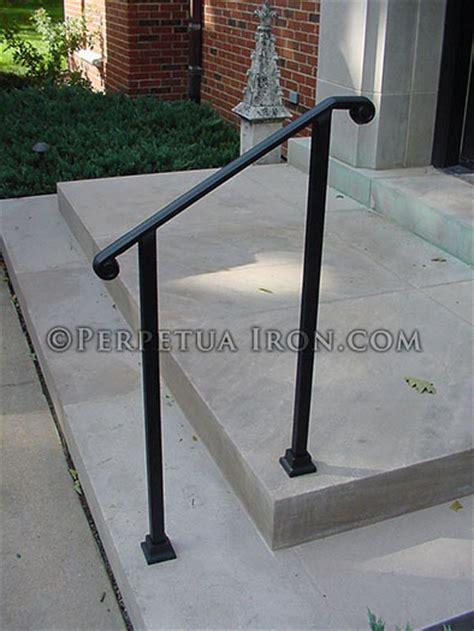 2 Stair Handrail Perpetua Iron Classic Railing