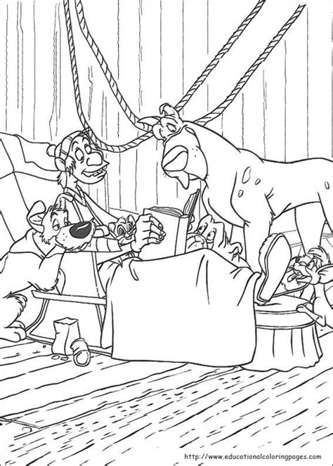 Oliver and Company Coloring Pages - Educational Fun Kids