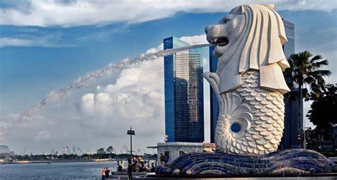Pajangan Merlion Singapore merlion symbol of singapore
