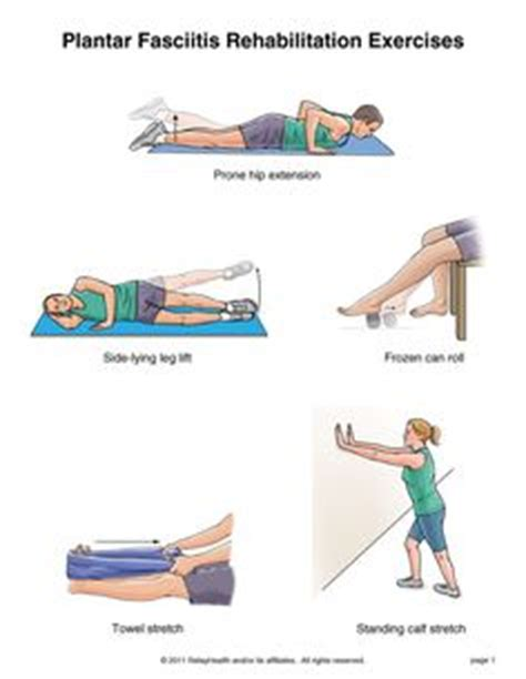 Planters Fasciitis Exercises by 1000 Ideas About Plantar Fasciitis Exercises On