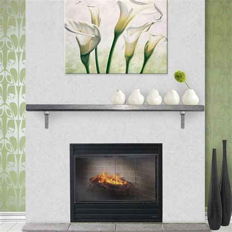 Metal Fireplace Mantel Shelf by 1000 Images About Fireplace Mantels On Stove