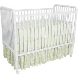 delta lind non drop side crib white by delta