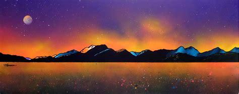 glow in the paint edinburgh ben nevis winter glow loch linnhe from craignure