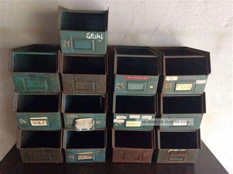 alte schubladen kaufen alte industriedesign loft schublade stapelbox regal metall
