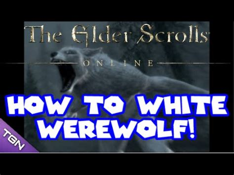 tutorial werewolf game full download how to become a hybrid in elder scrolls online