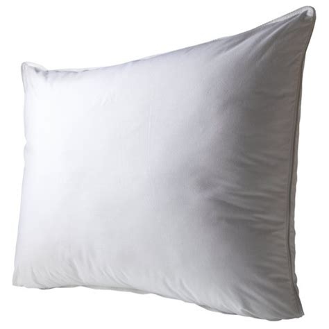 sleep innovations 2 in 1 pillow 2 in 1 reversible foam and fiber pillow white target
