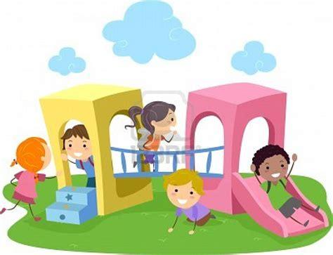 imagenes de niños jugando en un parque 10132539 ilustracion de ninos jugando en un parque