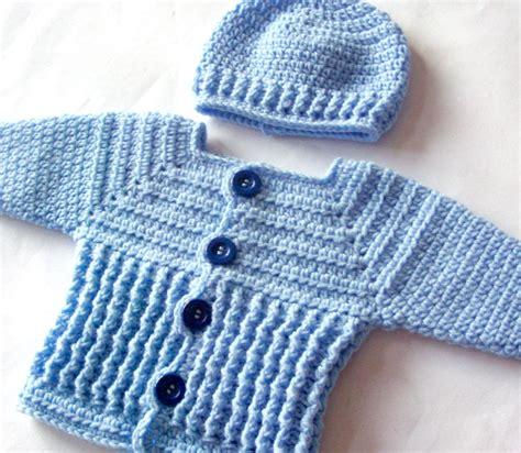 cardigan pattern for baby boy baby boy sweater set crochet pattern crochet baby sweater
