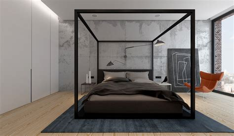 contemporary canopy bed 3 ideas for a 2 bedroom home includes floor plans