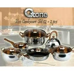 Panci Set Oxone Ox 933 panci set oxone eco ox 933 cookware set alat masak