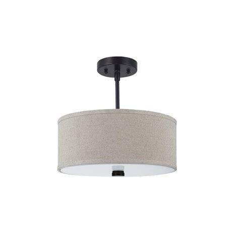 Semi Flush Mount Kitchen Lighting Sea Gull Lighting Dayna Shade Pendants 2 Light Burnt Semi Flush Mount Light 77262 710