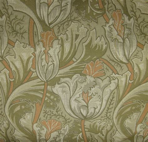 stickley upholstery fabric vintage scalamandre hand print daisy linen 2 yards by