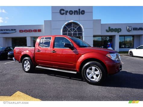 red nissan frontier 2013 cayenne red nissan frontier sv v6 crew cab 99553801