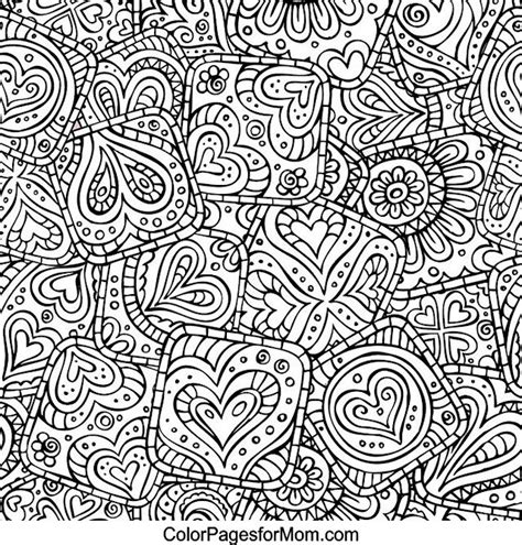 abstract paisley coloring pages hearts abstract doodle zentangle zendoodle paisley