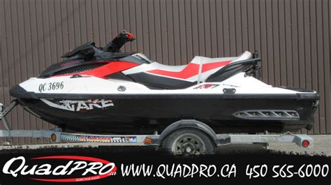 sea doo boat dealers in quebec bombardier sea doo wake pro 215 2011 used boat for sale in