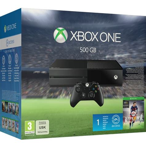 fifa console xbox one 500gb console includes fifa 16 consoles