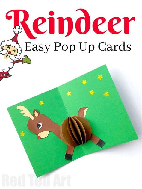 Simple Pop Up Card Template by De 1393 B 228 Sta Easy Crafts For Bilderna P 229