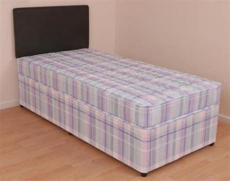 3ft single bed single divan bed 3ft orthopaedic mattress melissa slide