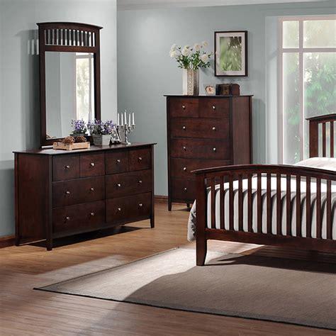 metropolitan 5 piece queen bedroom set slat bed wenge