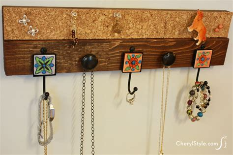 how to make a hanging jewelry organizer how to make a hanging jewelry organizer everyday dishes