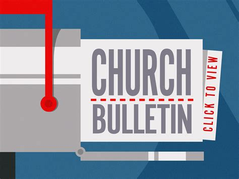 Nice Gifts For Church Members #8: 252070_churchbulletin.jpg