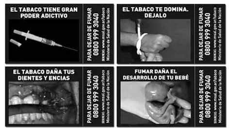 imagenes fuertes tabaquismo nuevas im 225 genes contra el tabaquismo en las cajas de