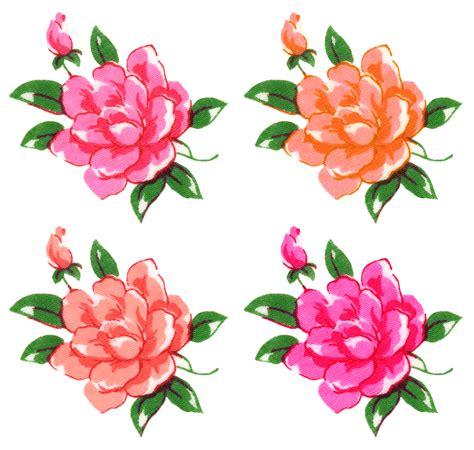 printable scrapbook flowers free digital scrapbook embellishments scrapbook