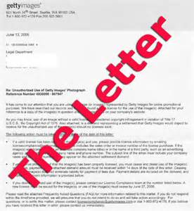 Demand Letter Getty Images Getty Images Demand Letter