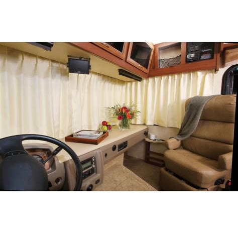 motor home curtains custom windshield drapes gary manufacturing drapery