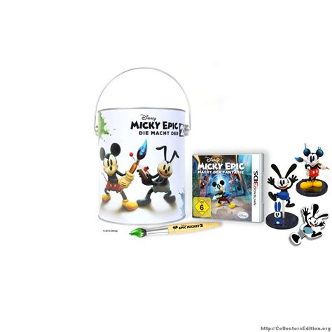 Nintendo 3ds Disney Limited collectorsedition org 187 disney epic mickey 2 the power of two special edition 3ds europe
