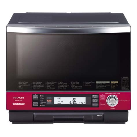 microwave product page hitachi consumer