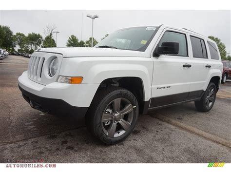 white jeep patriot 2016 jeep patriot sport in bright white 752179 all