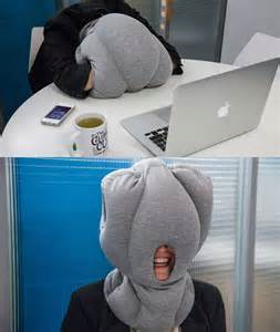 napping desk desktop nap pillow is perfect for catching zzzs on the job