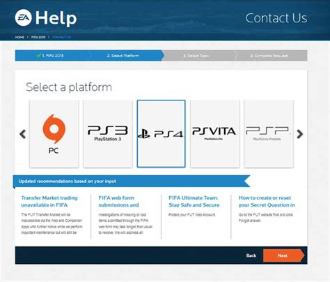 ea games phone number ea sports fifa 16 support contact