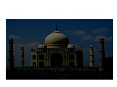 Ppt Important Facts About Taj Mahal Powerpoint Ppt On Taj Mahal