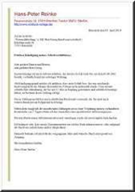 Vorlage Kündigung Arbeitsvertrag Mit Resturlaub K 252 Ndigungsschreiben