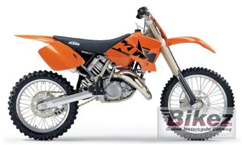 2003 Ktm 125sx For Sale 2003 Ktm 125 Sx Specifications And Pictures