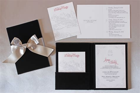 Wedding Invitations Wi by Beautiful Winter Wedding Invitations Ideas Wi On Ivory
