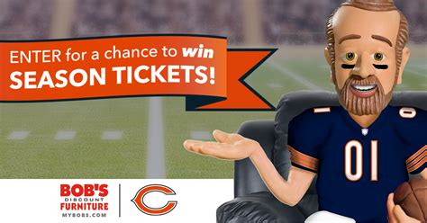 Chicago Bears Sweepstakes - bobs furniture chicagofurniture by outlet furniture by outlet