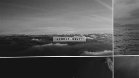 slideshow templates for after effects memory frames photo slideshow after effects template