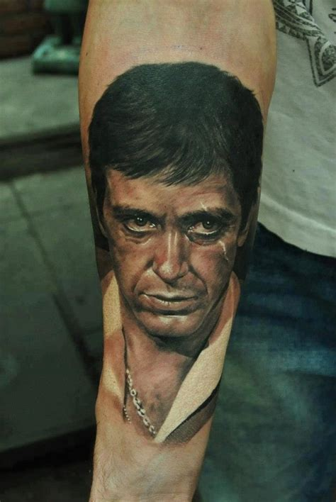 scarface tattoo tony montana scarface montana