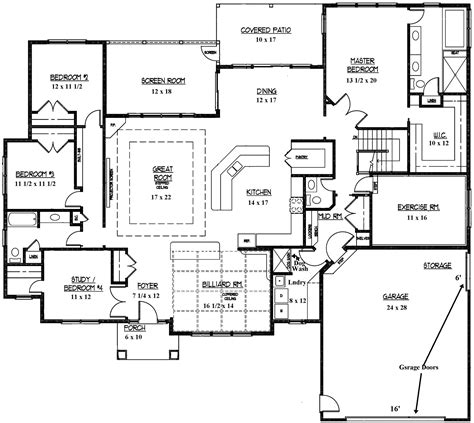 custom ranch floor plans custom floor plans for st louis homes for sale arch city
