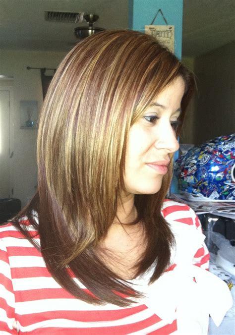 partial foil highlights partial foil highlights for long hair