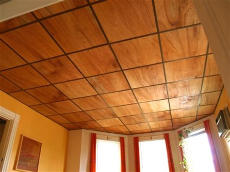 Wood Drop Ceiling Thin Plywood For Drop Ceiling For Our Basement